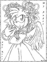 Amy Rose My Angel by ArisuAmyFan