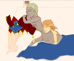 WIP King Cyril and Deblin by Eloarei