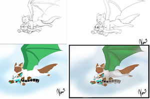 How it was made - Commission Examples by Kitmit