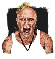 The Prodigy Keith Flint by Gigabeto