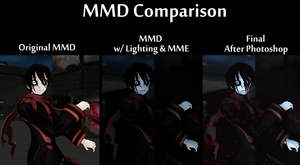 MMD Comparison by BloodyVocaloid