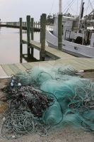 Fishing Nets by Blue-to-the-Bone