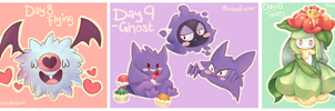 Pokemon - Day 8 - 10 by MindlessFrappe