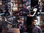 Hot toys Hawkeye 1/6 scale collectable figure by dimebagsdarrell