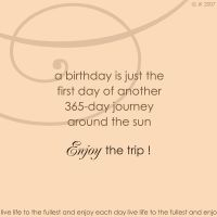 journey of a birthday by jk0921