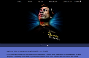 DJ Arkangel's Web Layout by mikethedj4