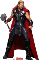 Thor PNG/RENDER from Marvel's The Avengers AoU by Joaohbd