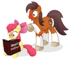 Applebloom Finds Niku's Private Portfolio by PrinnyAniki