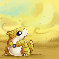 sandshrew- Proyecto Pokedex Chile by Kikulina