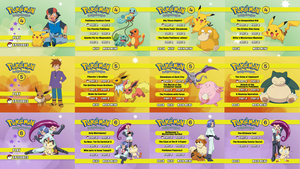 Pokemon Indigo League DVD Box Set Menus #2 by dakotaatokad