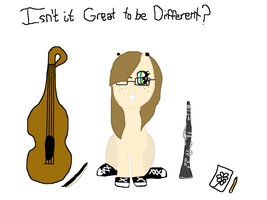 Isn't it Great to be Different? by LeadDragonRider