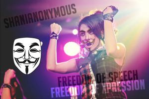 Shania JKT48 Anonymous by SaintOfArt