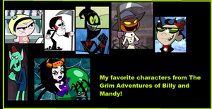 My Fav Characters from Billy and Mandy college. by Smurfette123