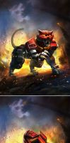 TRANSFORMERS LEGENDS: Rampage by manbu1977