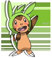 chespin by LadyZiodyne