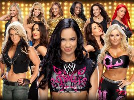 WWE Divas Wallpaper by Chirantha
