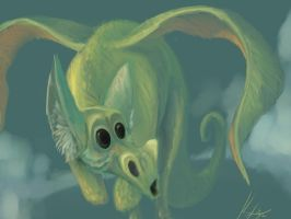 Painterly Dragon by 8kx