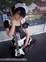 Maid Cosplay Shot 02 by Moonfire95