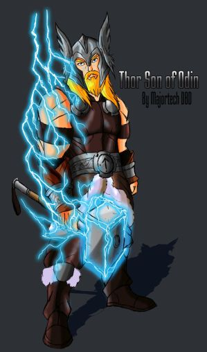 Thor Son of Odin IH design