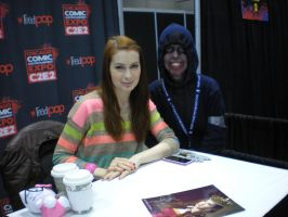 Photo Op with Felicia Day by MJCa6oose