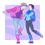Victuuri on Wheels by Eldanis