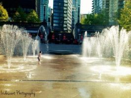 My Rayham, Downtown Vancouver BC by Rose-Mariee