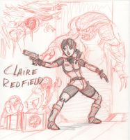 RE - Claire Redfield by HJTHX1138