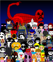 Creepypasta Group Photo by DanielTheStudent