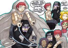 kankuro sasori scribblescribbl by prisonsuit-rabbitman