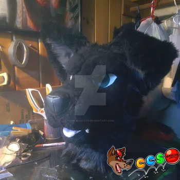 Wolf Head for Sale! by CCS-Mascots