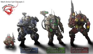 Mech Suits 1 by Destructiconz