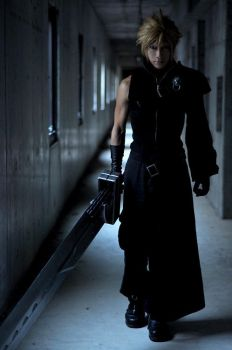 cloud strife by kaname-lovers