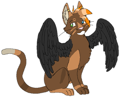 Angle cat adopt auction (closed) by XTwilight-SerenityX
