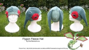 Flygon Fleece Hat by KiraTakuto