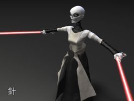 ::WIP:: Female Sith by bongoboy