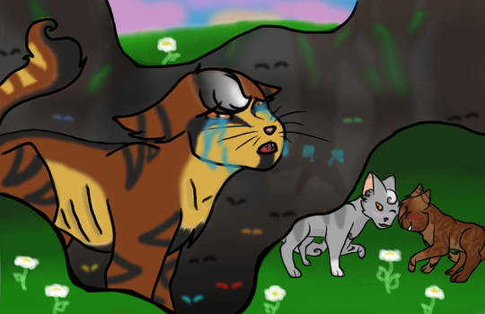 WARRIORS- Mapleshade: how could you?! by kittykittyluv