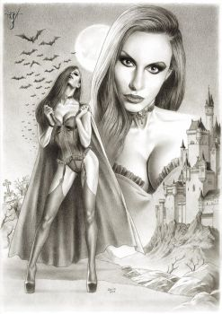 ERZSEBET - THE COUNTESS DRACULA by jairolago