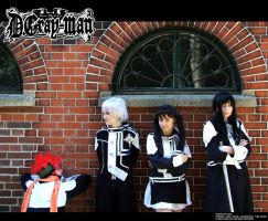 D.Gray-Man: Like in Anime by wtfproductionsskits