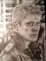 Jensen Ackles by 1drawingGirl
