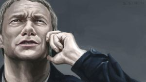 Martin Freeman (sherlock) 2 by INA3