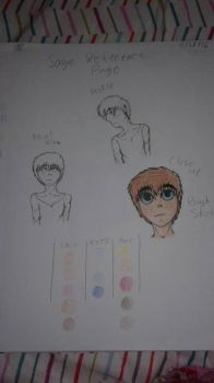 Sage (Oc Reference Sheet) by Youtuberlife124