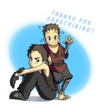 Thank-you message for Tapastic by Parimak