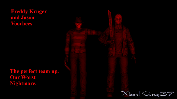 Freddy and Jason by Xboxking37