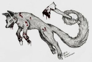 AngerFox by AudInk