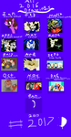 ~2016 ART CALENDAR~PAY 2 USE by swaggamer3333