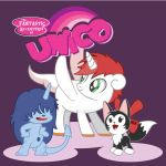 My Little Unico by kishokahime
