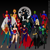 Justice League by the-saga-c0ntinues