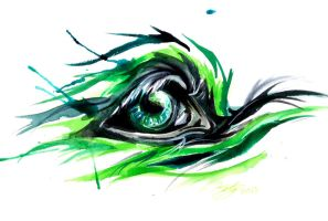 Fantasy Wolf Eye by Lucky978