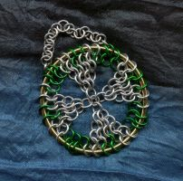 Maile Celtic Cross Ornament by crazed-fangirl