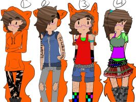 Random Outfits!!!! by Ask-Nicki-The-Person